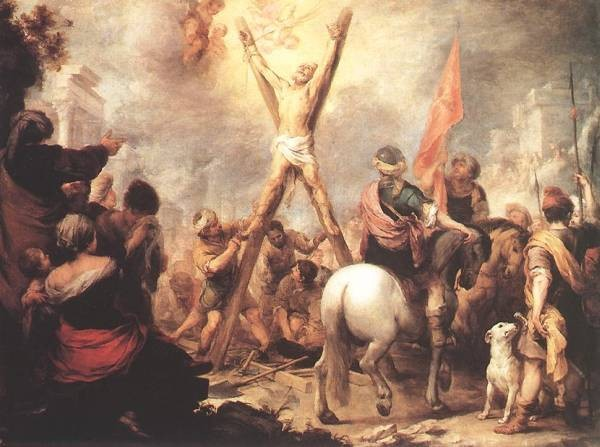 Murillo The Martyrdom of St Andrew
